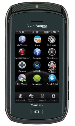 pantech crux verizon phone. Verizon announced Wednesday